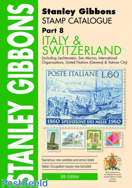 Stanley Gibbons Europa Deel 8: Italië and Zwitserland