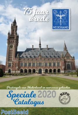 Speciale NVPH catalogus 2020/21, Nederland en Overzeese gebiedsdelen, VOORUITBESTELLEN