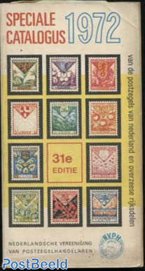 NVPH Speciale Catalogus 1972