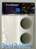 25 Coin holders self-adhesive 39.5mm