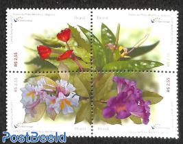 Flowers from the rainforest 4v [+]