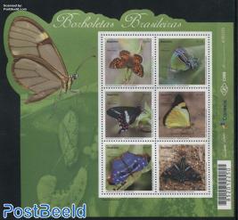 Mercosul, Butterflies 6v m/s