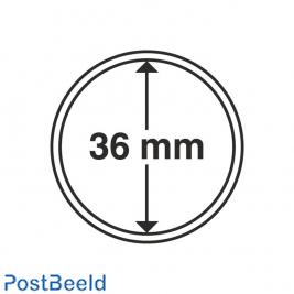 Numis 10x Coin Capsules 36mm
