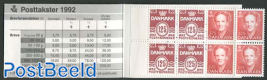 Definitives booklet (H38 on cover)