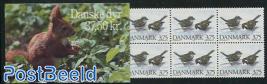 Birds booklet