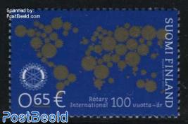 Rotary centenary 1v