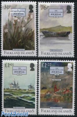 Falkland Islands Journal 4v