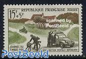 Stamp Day 1v (Citroen 2CV)