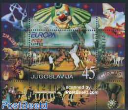 Europa, circus s/s