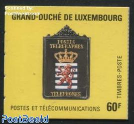 Postal museum booklet
