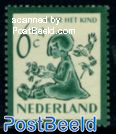 6+4c girl with birds, Stamp out of set