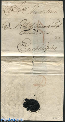 Letter from Dordrecht to Enkhuizen