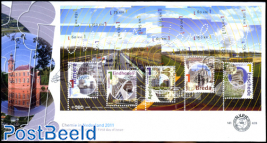 Beautiful Netherlands s/s, FDC