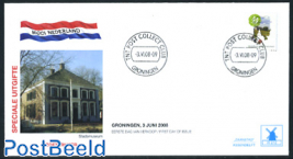 Beautiful Holland, Groningen, mill FDC