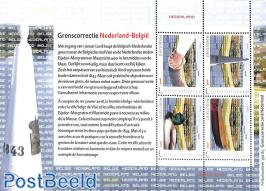 Border correction Netherlands, Belgium m/s