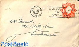 Envelope 1.5d to Southampton