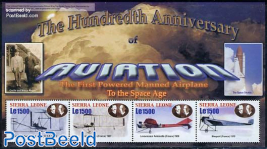 Aviation centenary 4v m/s