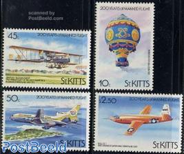 Aviation bicentenary 4v