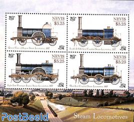 Steam locomotives 4v m/s