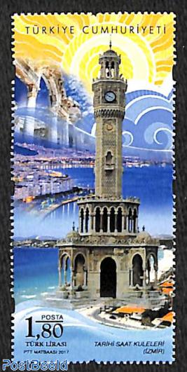 Historic clock tower 1v