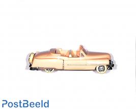 Cadillac 1954 cabrio, pink