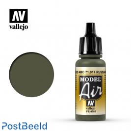 Vallejo model air russian green