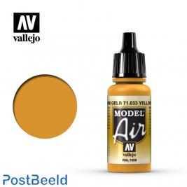 Vallejo model air yellow ochre