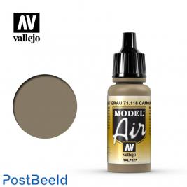 Vallejo model air camouflage grey