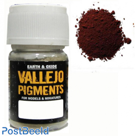 Vallejo pigments brown iron oxide