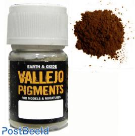 Vallejo pigments rust