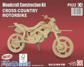 Cross-Country Motorbike Wood Kit