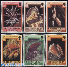 Definitives 6v (with year 1982)