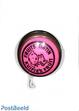 TinTin fruits, pink yo-yo