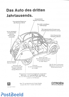 Das Auto des dritten Jahrtausends