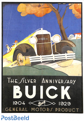 The silver anniversary Buick 1929