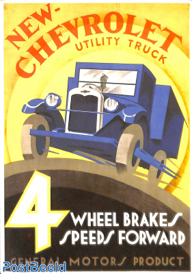 New Chevrolet Utility Truck