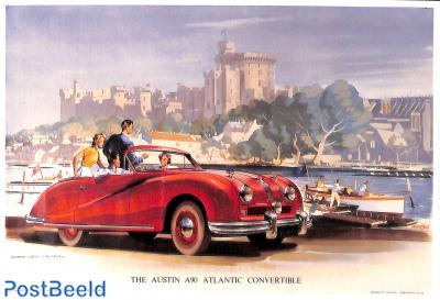 The Austin A90 Atlantic convertible