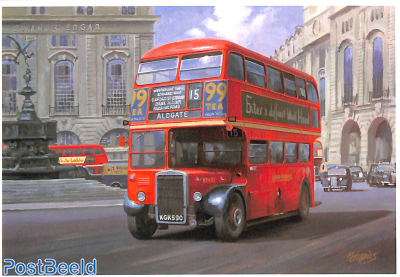 Bus at Piccadilly