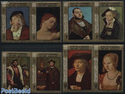 German paintings 8v