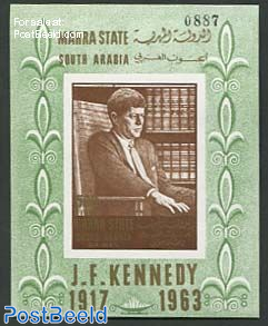 Mahra, J.F. Kennedy s/s imperforated