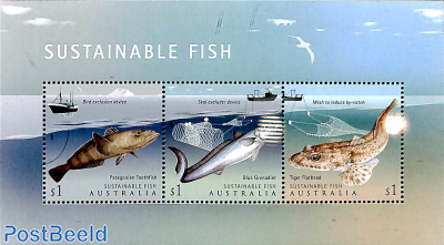 Sustainable fish 3v m/s