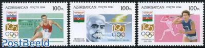 IOC centenary 3v
