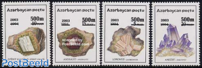 Minerals 4v overprints
