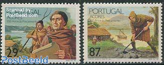 Settlement 450th anniversary 2v