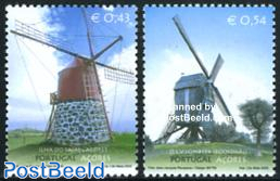 Windmills 2v, joint issue with Belgium