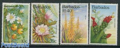 Cactus flowers 4v