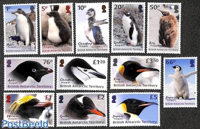 Definitives, penguin 12v