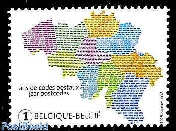 50 years Postal Codes 1v