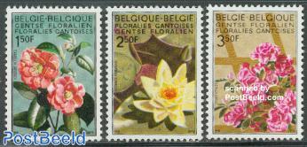 Gand flower show 3v