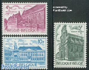 European architectural heritage 3v